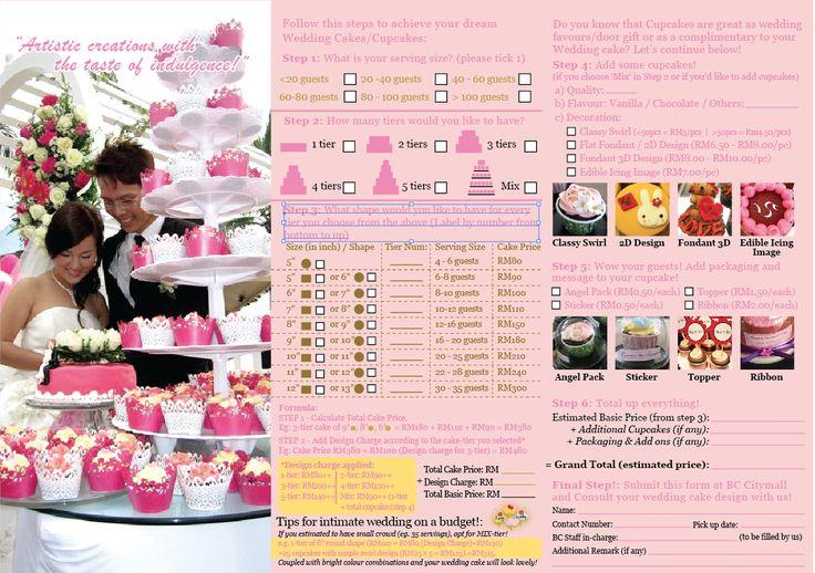 wedding cake order form cake order forms pinterest. Black Bedroom Furniture Sets. Home Design Ideas