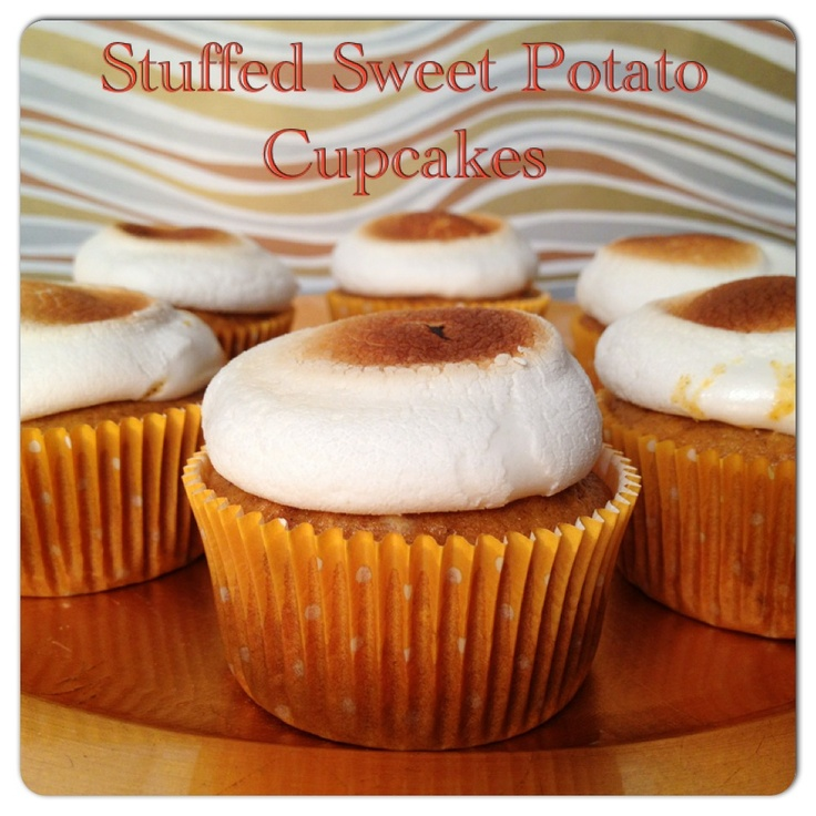 Sweet Potato Cupcakes | For the love of baking | Pinterest