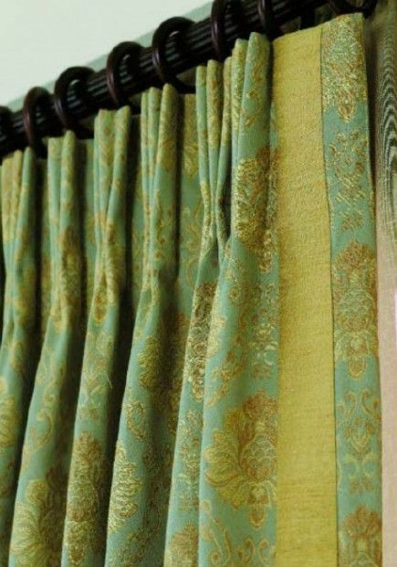 Pleat becca s living room curtain detail inspriations pi