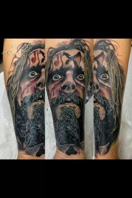 rob zombie tattoo tattoos tattoo art other stuff pinterest. Black Bedroom Furniture Sets. Home Design Ideas