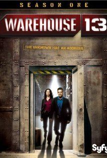 Spies, gadgets and sexual tension. Syfy did something right. #Warehouse13