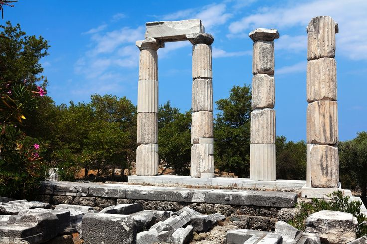 Ancient ruins on Samothrace island | It's all Greek to Me | Pinterest