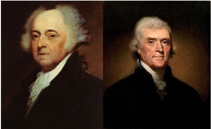 july 4 1826 presidents died