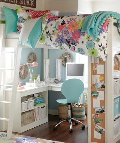 Cabin Bed Kids Pinterest