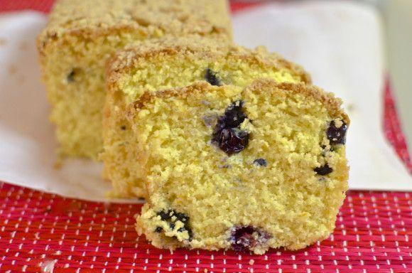 Blueberry Orange Breakfast Bread | Breakfast | Pinterest