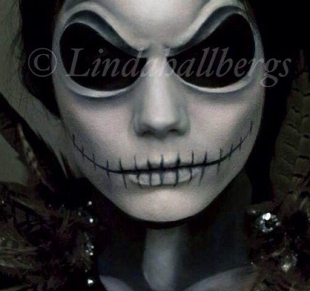 Nightmare Before Christmas Jack the Skeleton make-up | Holidays ...