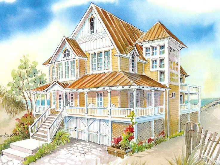 Stunning Coastal Living House Plans 4 Photos Home