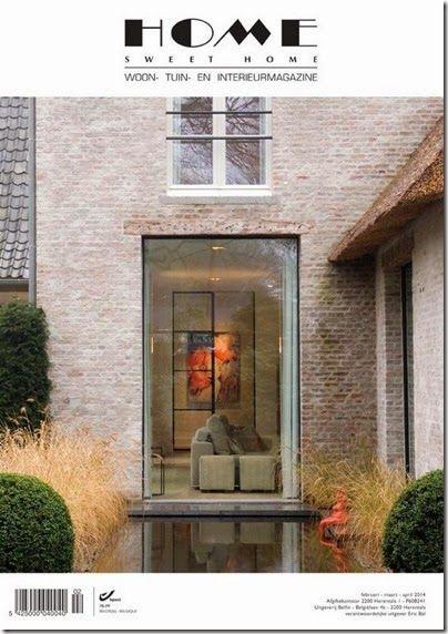 belgian magazine home sweet home exteriors pinterest
