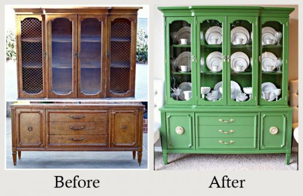 Top 25 Before And After DIY Furniture Furniture Crafting Pinterest
