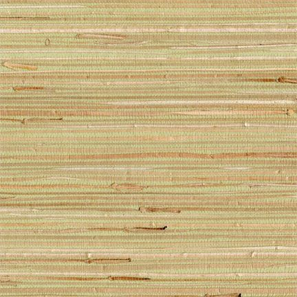 HGTV Easychange (removable) wallpaper in Light Green gold Grass cloth