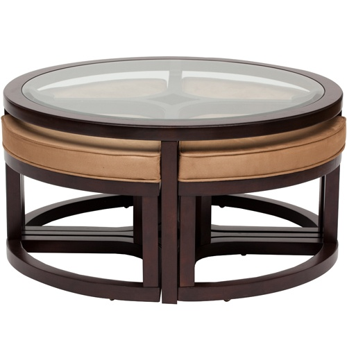 Coffee Table With 4 Ottomans Ideas For The Home Pinterest