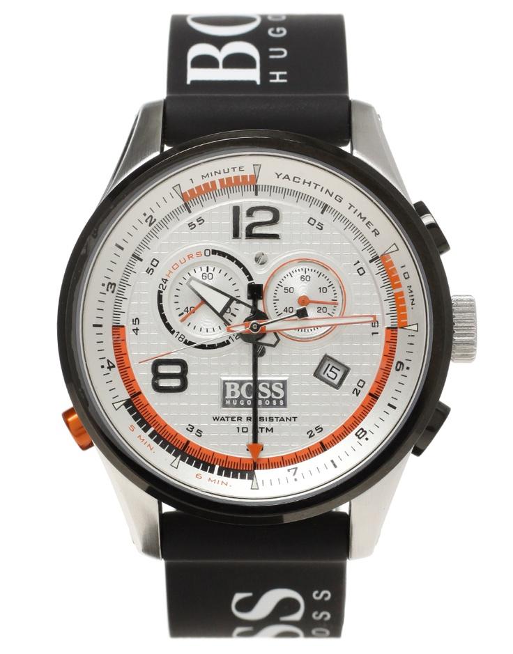 Boss By Hugo Boss Logo Strap Sailing Watch