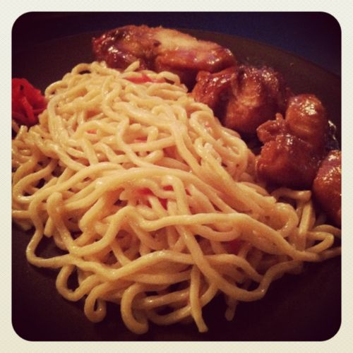 Misoyaki Chicken with Soy-Ginger Soba | Food, my only true love | Pin ...