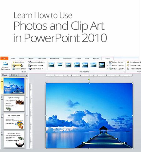 Photos and Clip Art in PowerPoint - 39.7KB