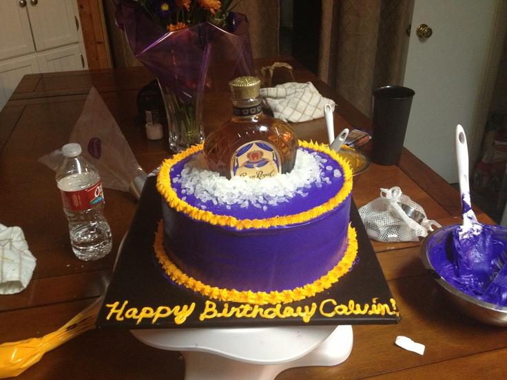 Cake With Crown Royal : Crown royal cake Cake ideas Pinterest