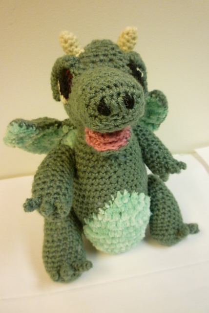 Crochet dragon Crochet Pinterest