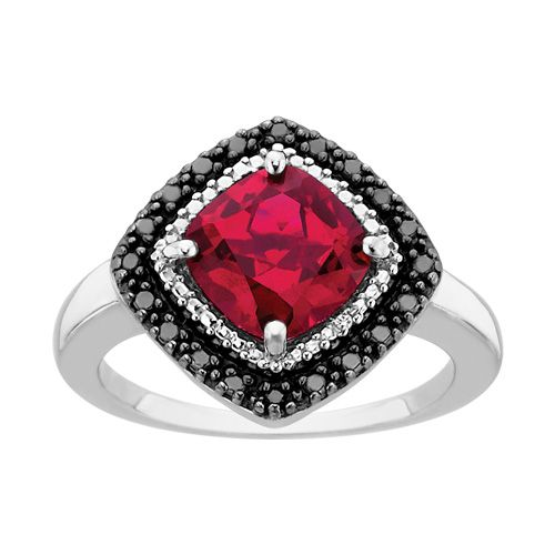 Fred Meyer Jewelers | Created Ruby and Diamond Fashion Ring