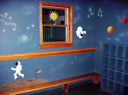 space theme boys 39 bedrooms pinterest