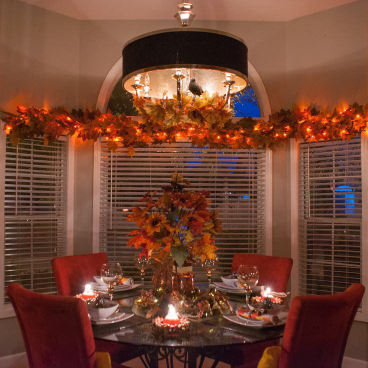 Fall/Thanksgiving Table decor