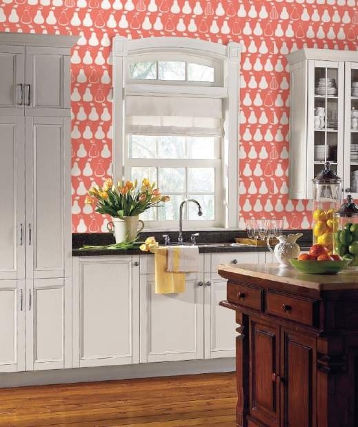 With new artistic designs, wallpaper is hip again ?Coral Kitchen