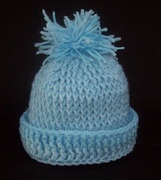 Cats-Rockin-Crochet Fibre Artist.: Ribbed Look Baby Beanie from Wists ...