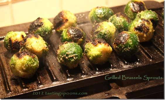 Grilled Brussel Sprouts   Healthy Recipes   Pinterest