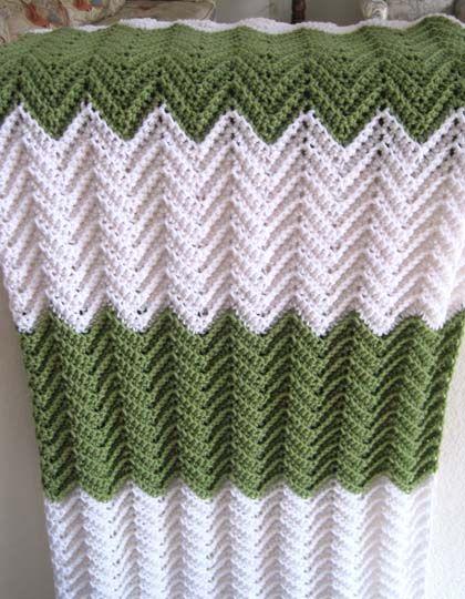 Ripple Afghan (crochet free pattern) Crochet Ripples ...