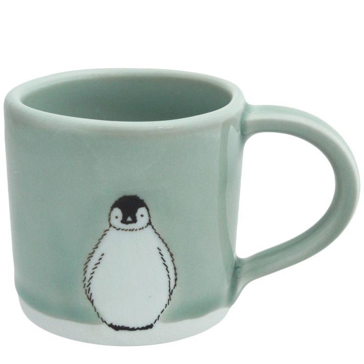 Small Penguin Mug — SKT Ceramics | Graphics/Cricut | Pinterest