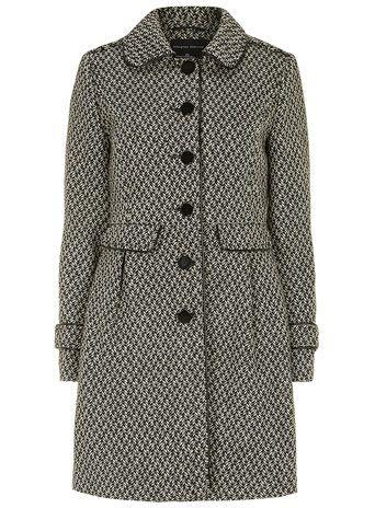 Grey tweed fit and flare coat - Jackets & Coats  - Clothing