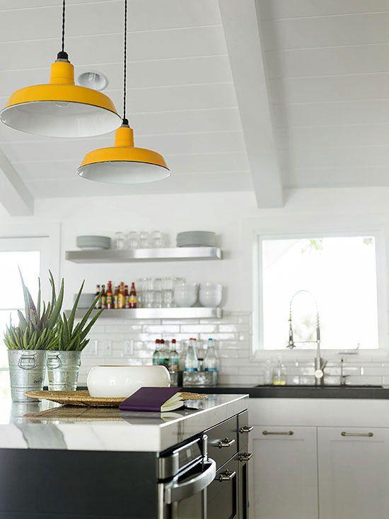 C mo mezclar vintage y moderna decoraci n de la cocina for Decoracion vintage moderno