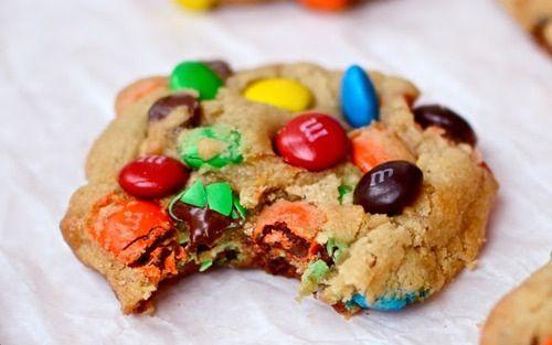 Cookies M&m's | Food | Pinterest