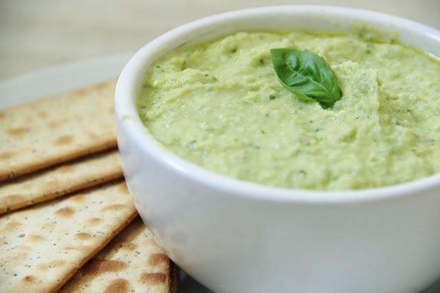 Basil Hummus Recipe | Eating Better | Pinterest