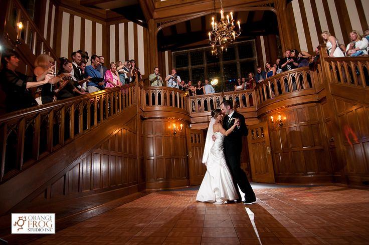 Hatley Castle Foyer With Dancefloor Weddings Hatley