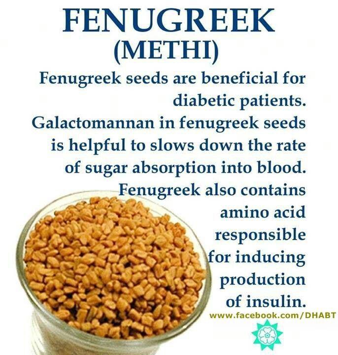 Benefits Of Fenugreek Seeds Diabetes Pinterest
