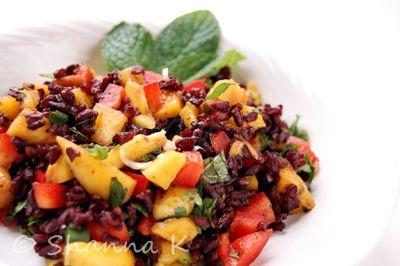 Thai Black Rice Salad | Awesome Recipes | Pinterest