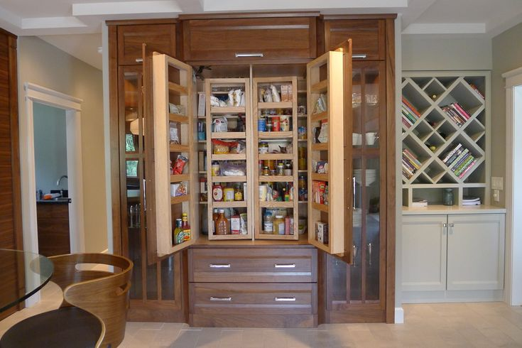 Built In China Cabinet Food Pantry Food Pantry Pinterest
