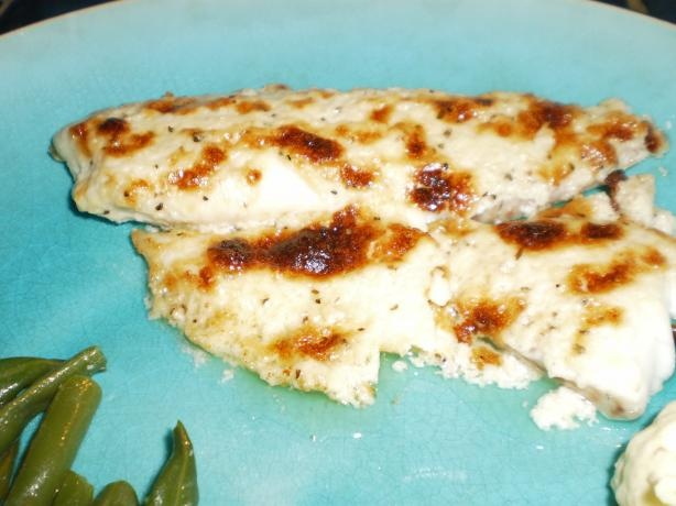 Broiled Tilapia Parmesan from Food.com: This is a wonderful recipe ...