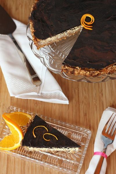 Orange Ricotta Cookies With Dark Chocolate Recipe — Dishmaps