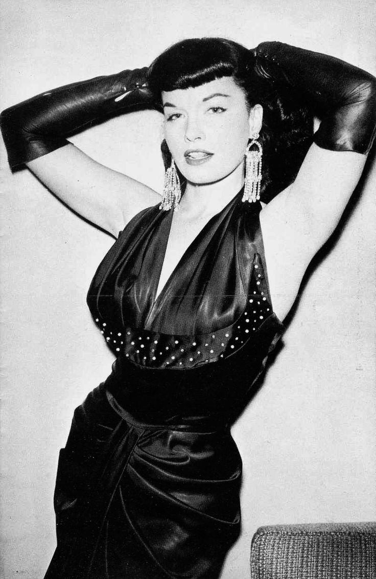 Bettie Page... trouble