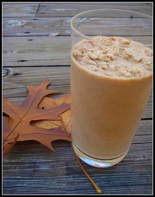 Lightened-up Pumpkin Pie Milkshake | Sam's Favorites | Pinterest