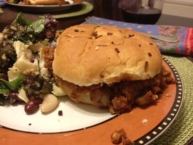 Vegan Sloppy Joes | Vegan | Pinterest