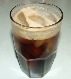 Spiced Rum and Cola - with homemade spiced rum