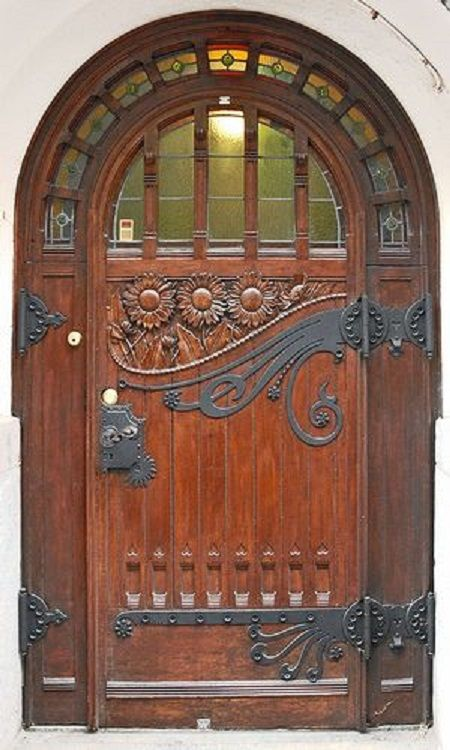 beautiful wooden door doors pinterest