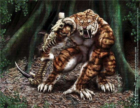 Werewolf vs weretiger - photo#6