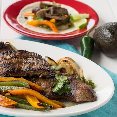 Skirt Steak Fajitas Recipe — Dishmaps