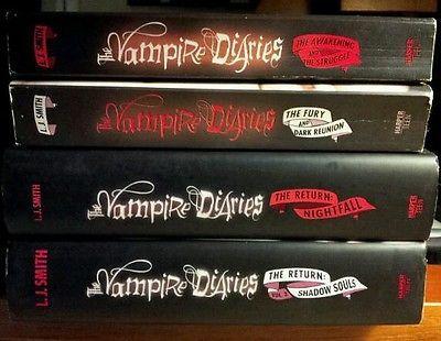 the vampire diaries book series pdf