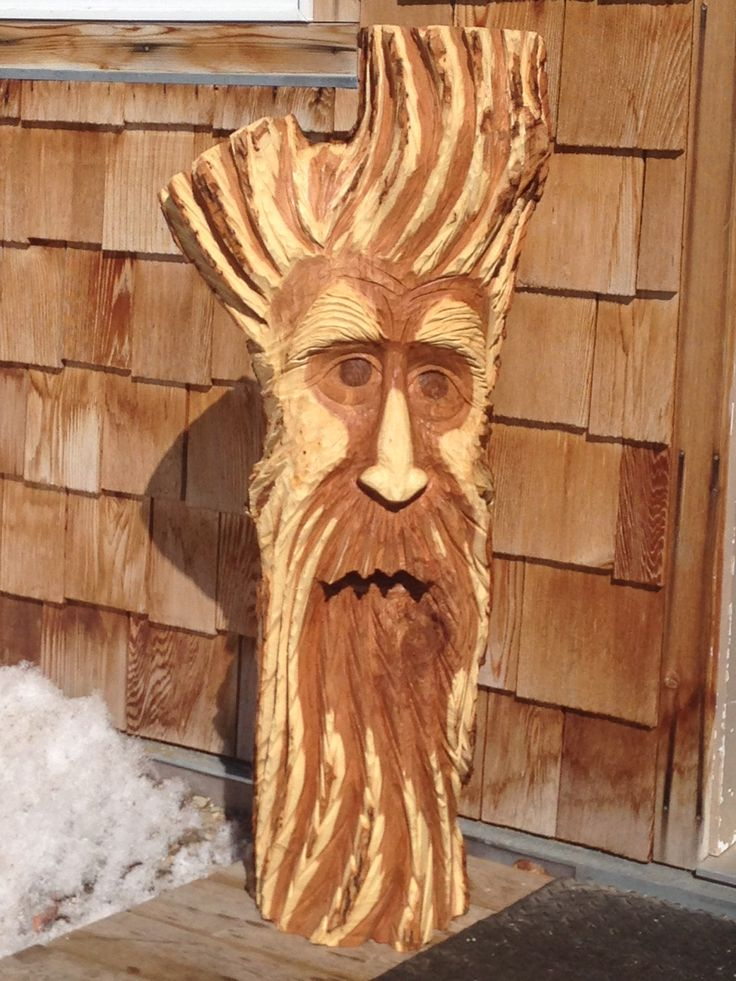 Chainsaw carving art et produits pinterest