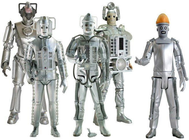 Evolution Of The Cybermen Classic Doctor Who Cyb...