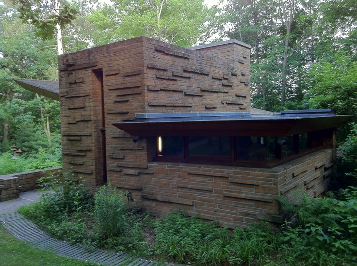 Frank Lloyd Wright Cottage Frank Lloyd Wright Pinterest