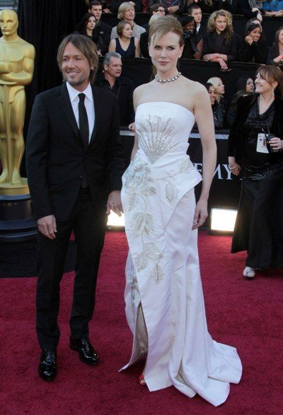 Celebrity couples at the 2011 Oscars